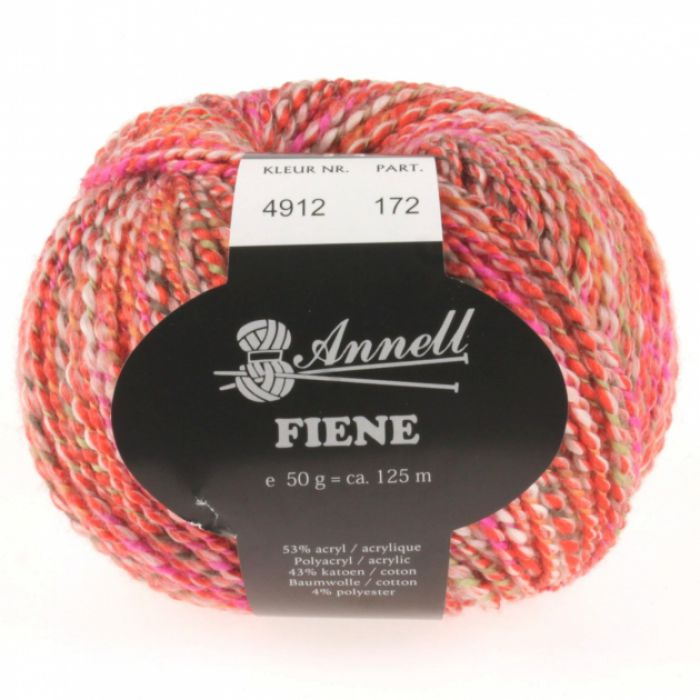Annell Fiene 4912  rood