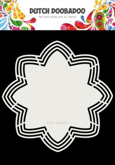 Dutch Doobadoo Dutch Shape Art Octo Flower 21x21