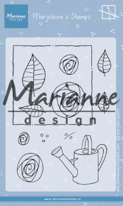 Marianne D Clear Stamps Marjoleine's roses MZ1901 105x148mm