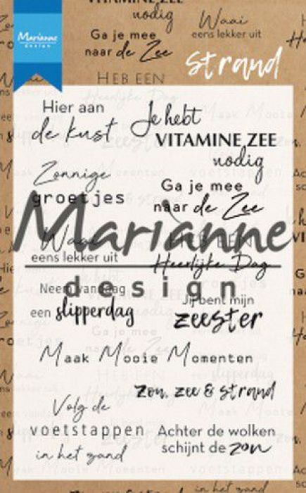 Marianne D Clear Stamps Strand (NL) CS1024 (