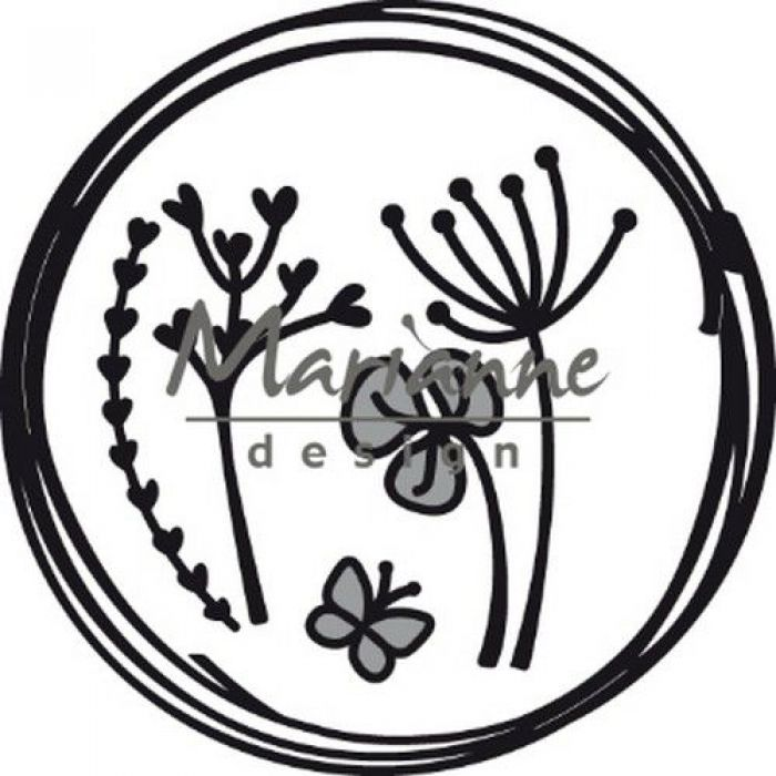 Marianne D Craftable Doodle cirkel CR146885.5x85.5 mm