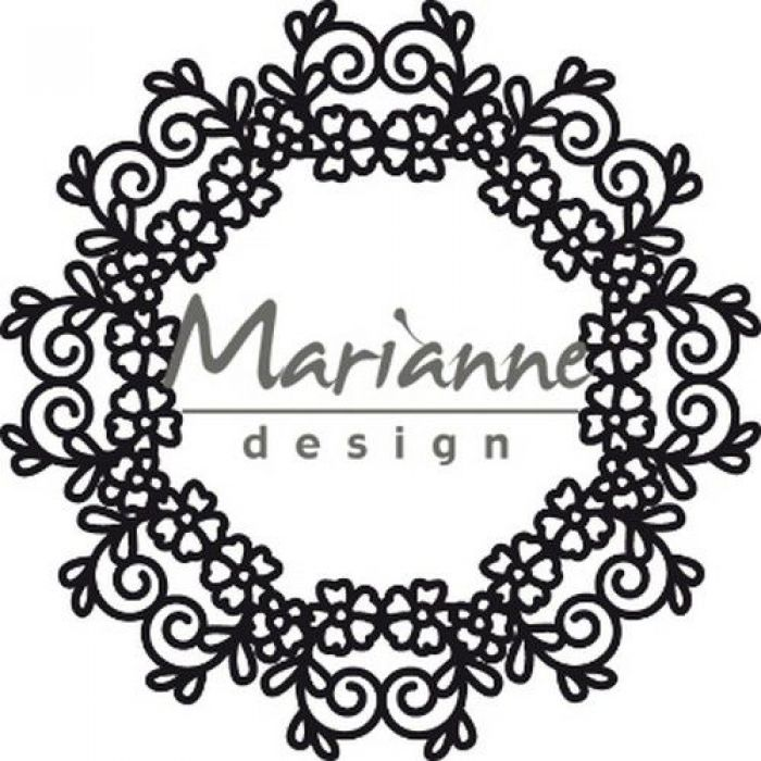 Marianne D Craftable Floral Doily CR1470110 mm