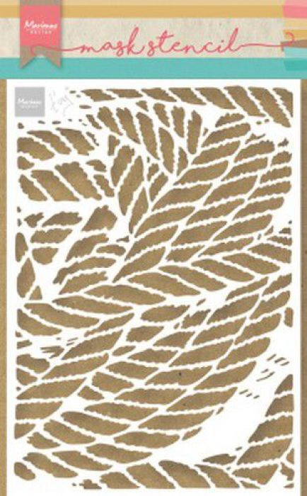 Marianne D Stencil Tiny's touwen PS8031 149x149 mm