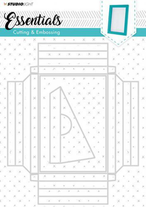 Studio Light Embossing Big Frame Dies Essentials nr.209 STENCILSL209