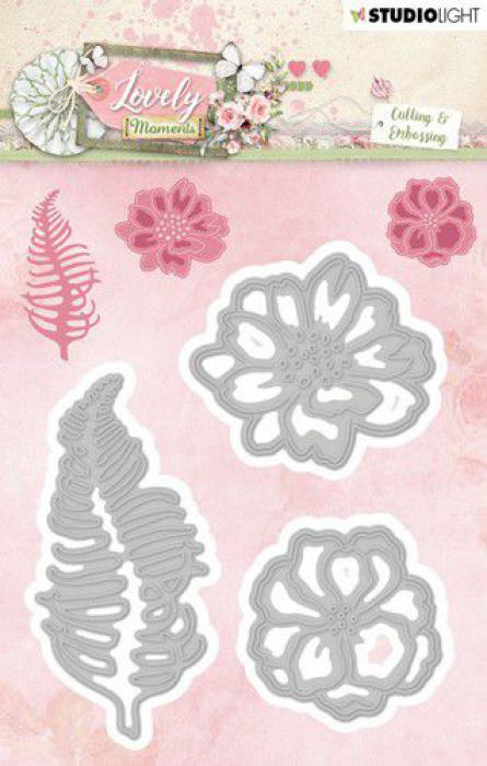 Studio Light Embossing Die 88x105 mm Lovely Moments nr 210