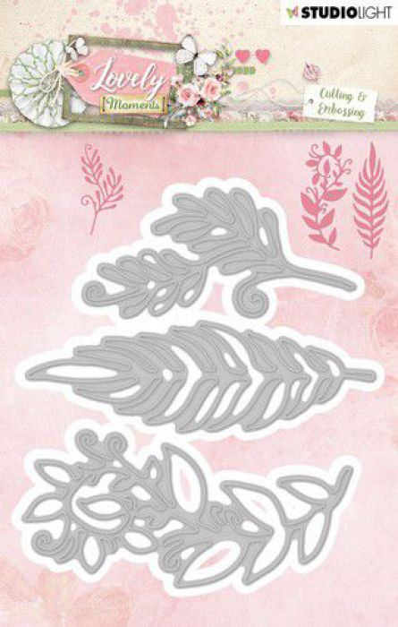 Studio Light Embossing Die 99x105 mm Lovely Moments nr 211