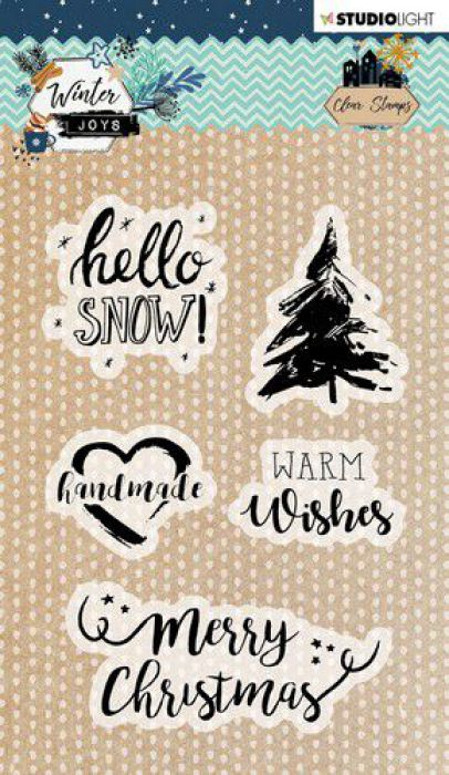 Studio Light Stamp A6 Winter Joys nr 418