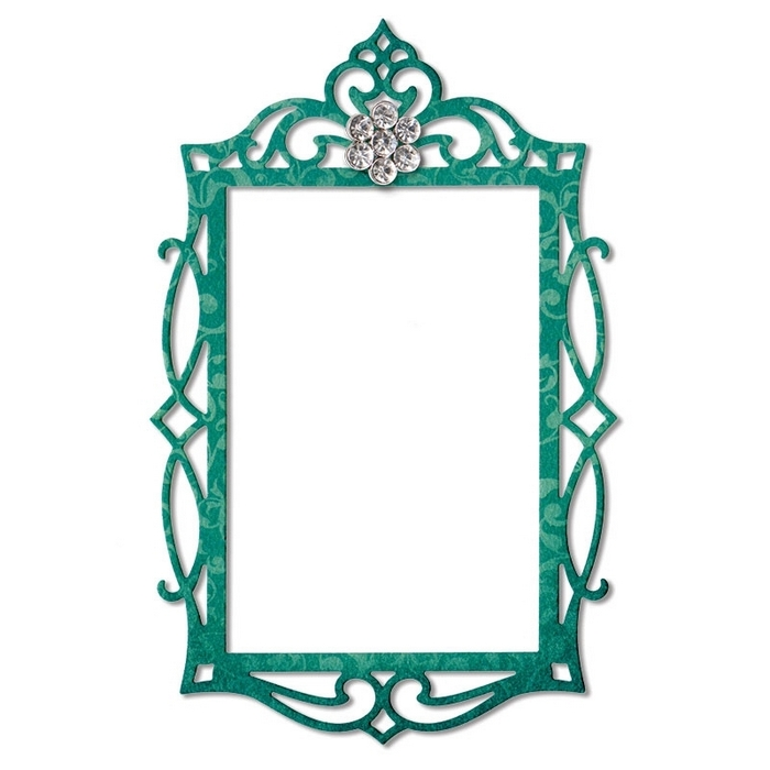 Thinlits Dies Frame, Fancy Rectangle