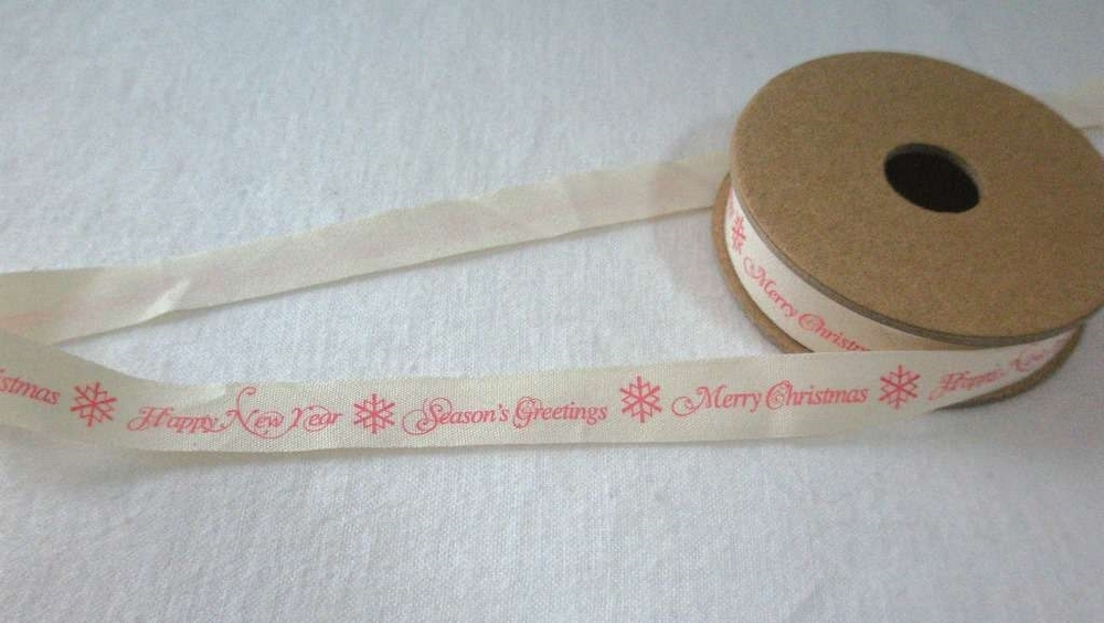Tekst Ribbon Merry Christmas
