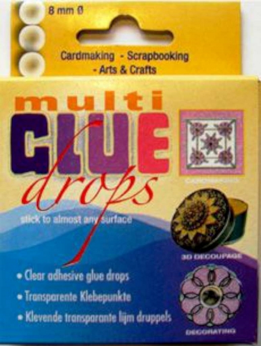 Multi Glue Drops 80 St 8 Mm