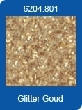 Xl Adhesive Sheets Stickers glitter goud