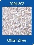 1 Pk (10 Vl) Xl Adhesive Sheets Stickers glitter zilver