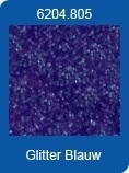 Xl Adhesive Sheets Stickers glitter blauw