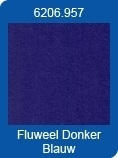 Xl Adhesive Sheets Stickers fluweel donker blauw