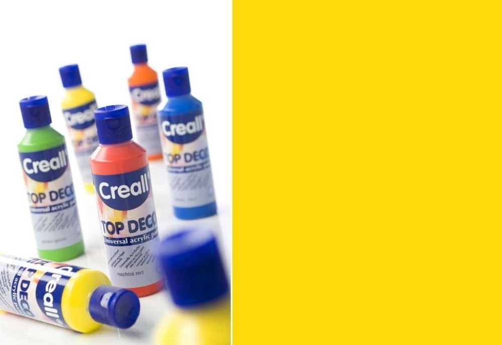 Top-deco - Acrylverf Citroengeel 80 Ml