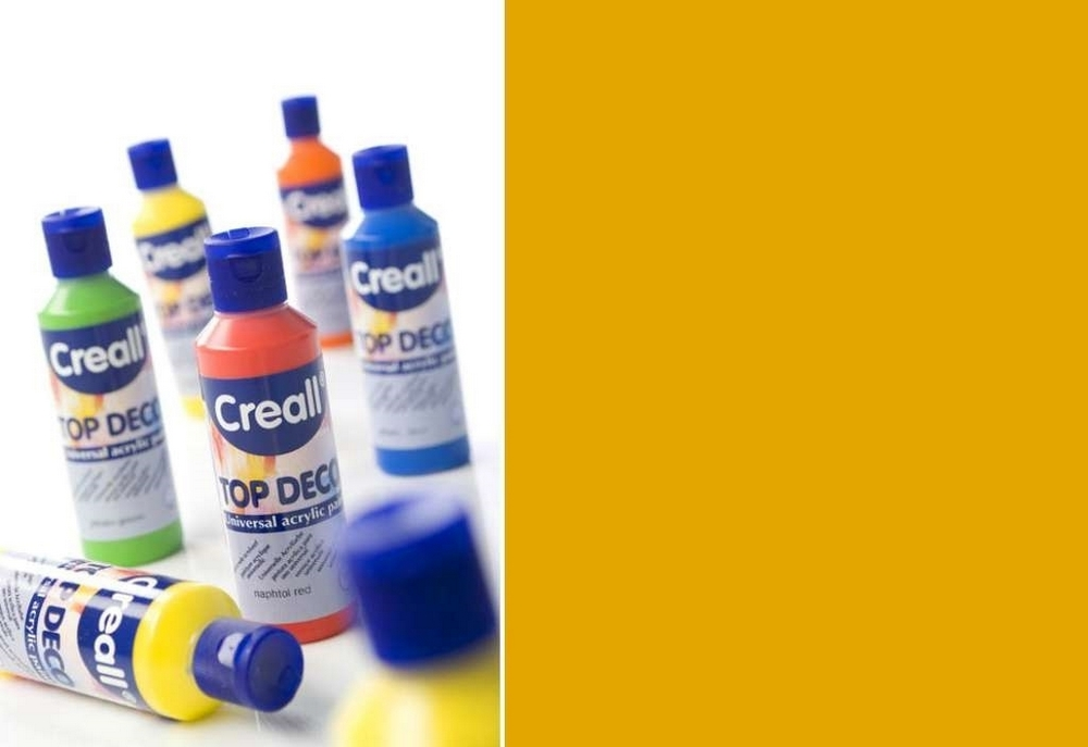 Top-deco - Acrylverf Okergeel 80 Ml