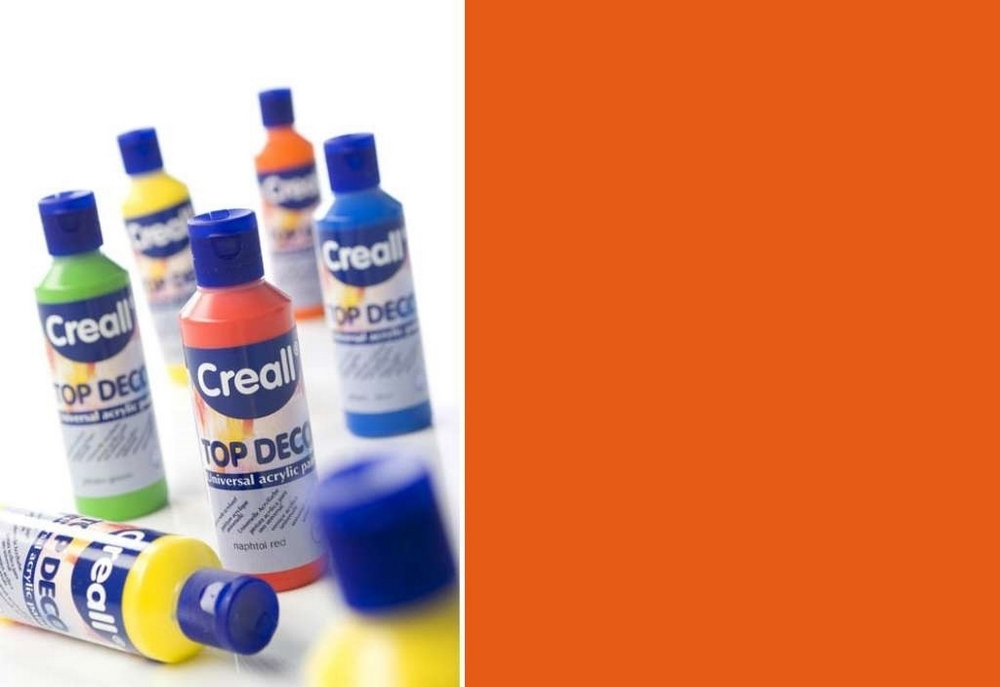 Top-deco - Acrylverf Oranje 80 Ml