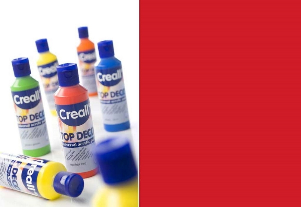 Top-deco - Acrylverf Naftol Rood 80 Ml