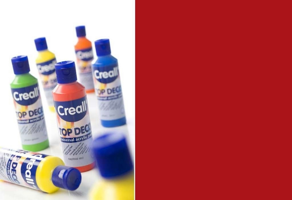 Top-deco - Acrylverf Naftol Diep Rood 80 Ml