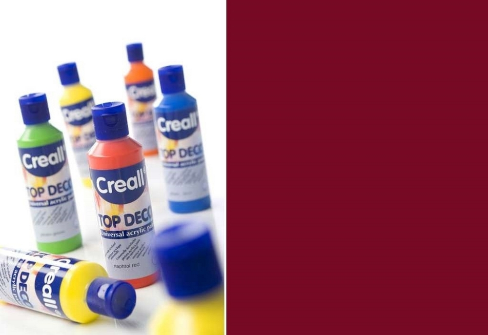 Top-deco - Acrylverf Permanent Rood 80 Ml
