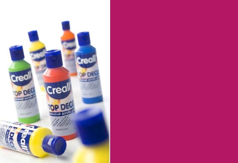 Top-deco - Acrylverf Magenta Rood 80 Ml