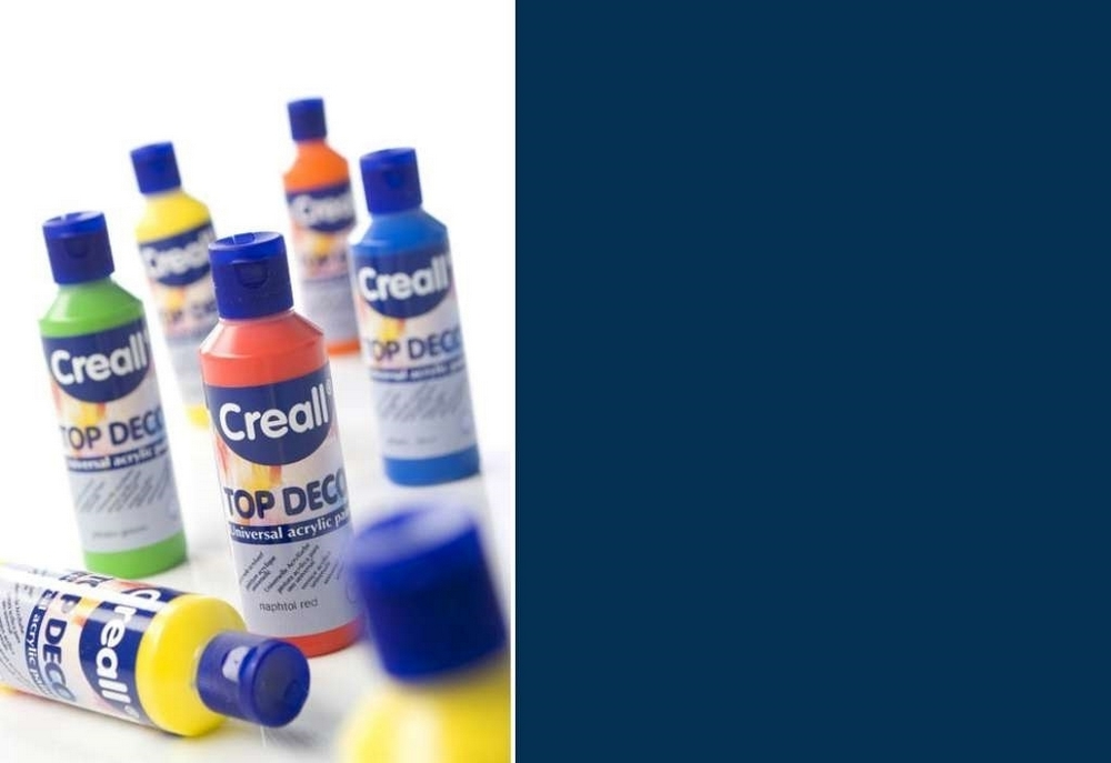 Top-deco - Acrylverf Nachtblauw 80 Ml