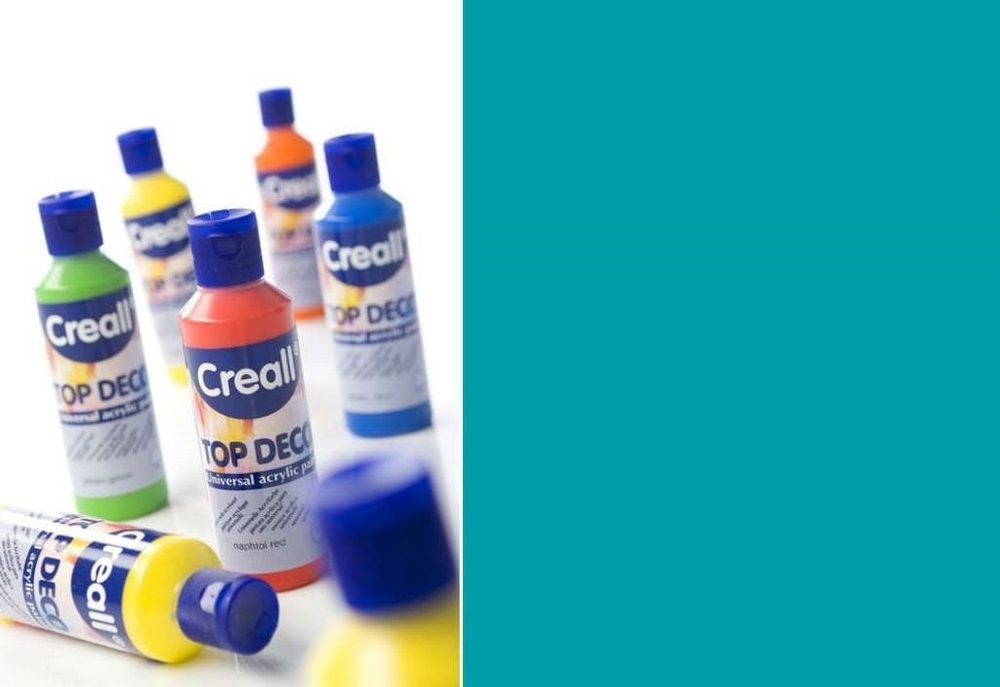 Top-deco - Acrylverf Turkoois 80 Ml
