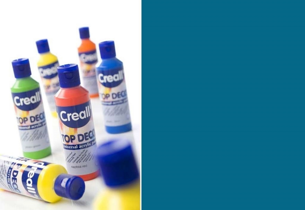 Top-deco - Acrylverf Carribean Blauw 80 Ml