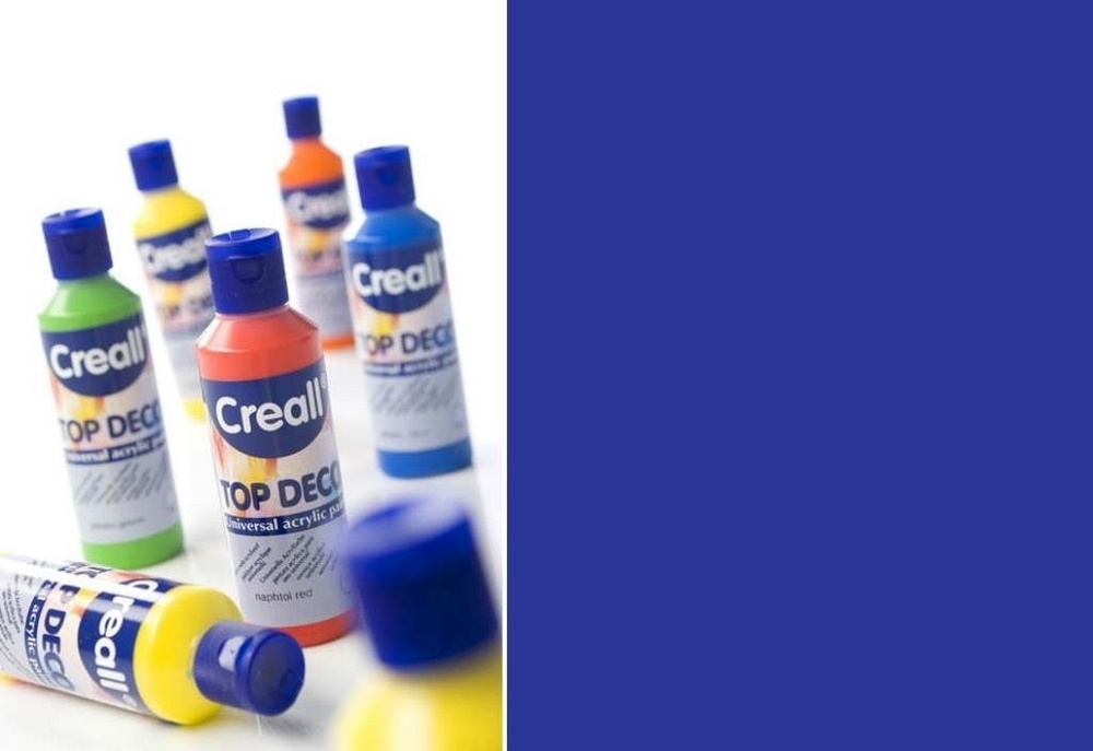 Top-deco - Acrylverf Ultramarijn Blauw 80 Ml