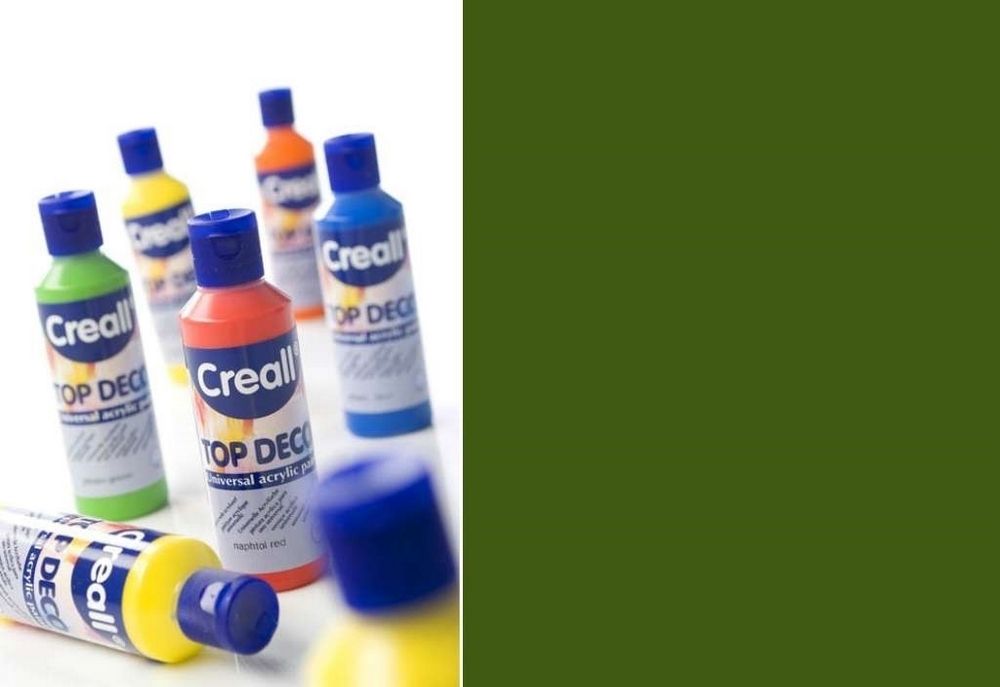 Top-deco - Acrylverf Olijfgroen 80 Ml