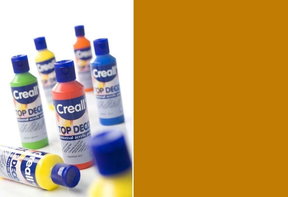 Top-deco - Acrylverf Oker 80 Ml