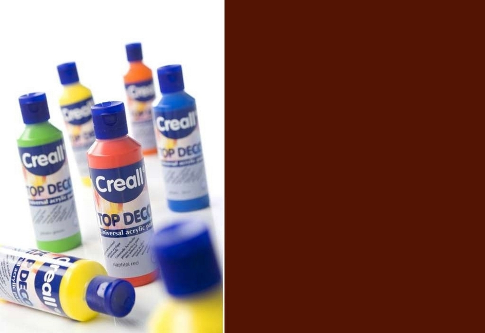 Top-deco - Acrylverf Diepbruin 80 Ml