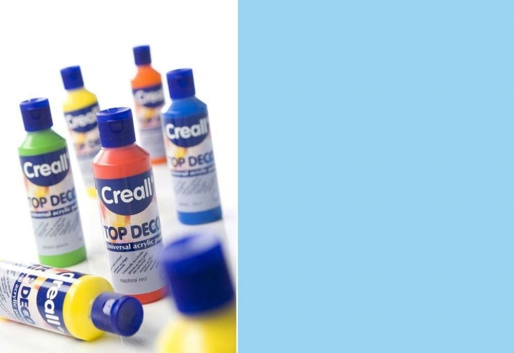 Top-deco - Acrylverf Baby Blauw 80 Ml