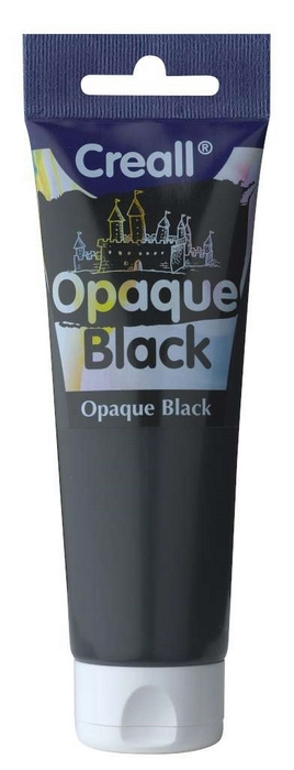 Opaque - Plakkaatverf Black 120 Ml