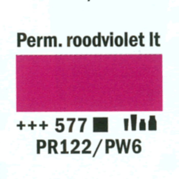 Amsterdam Acrylverf tube 120 ml Permanentrood violet licht 577