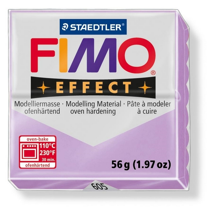 Fimo Effect Pastel Lila 56gr