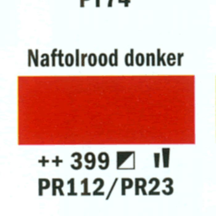 Acryl MARKER 4MM NAPHT.RD.DK. 399