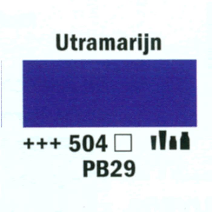 Acryl MARKER  4MM ULTRAMARIJN 504